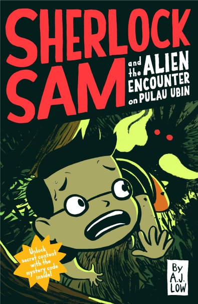 Sherlock Sam and the Alien Encounter cover