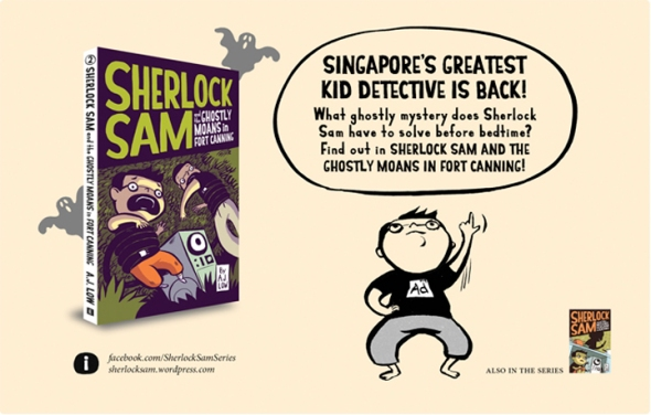 Sherlock Sam and Ghostly Moans in Fort Canning