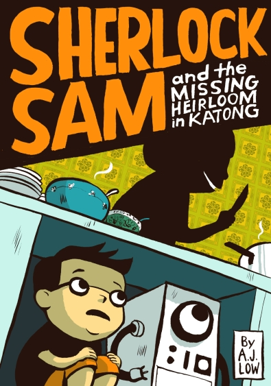 Sherlock Sam 1 Cover