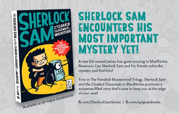 Sherlock Sam and the Cloaked Classmate in MacRitchie
