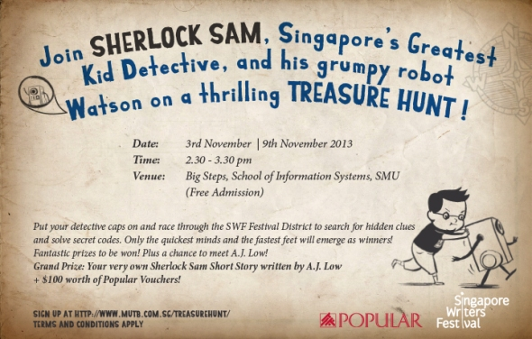 Sherlock Sam Treasure Hunt