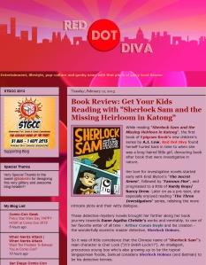 Review - Red Dot Diva 12 Feb 2013