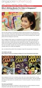 Review - Singapore Motherhood 26 Sep 2013