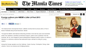 Review - The Manila Times 23 Sep 2013