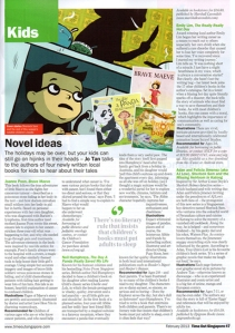 Review - TimeOut Singapore Feb 2013