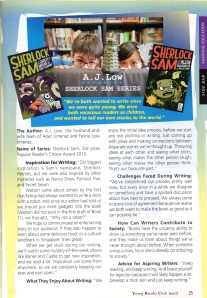 Review - Young Reader's Club Jan-Feb 2014