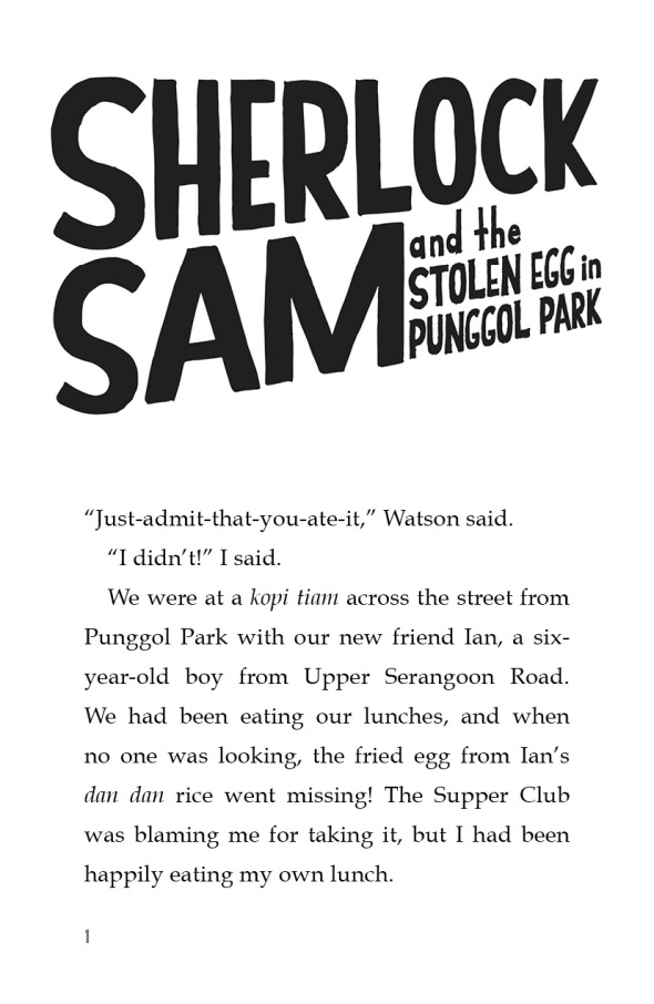 Sherlock Sam and the Stolen Egg in Punggol Park -1